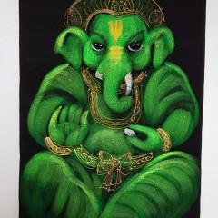Wandbilder mit Ganesha Motiven klein